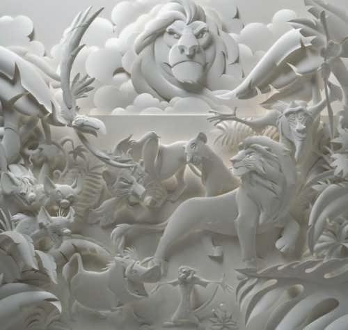 Jeff Nishinaka, paper art