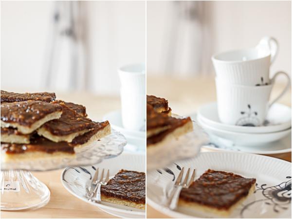 Amalie loves Denmark - Rezept für dänischen Brunsviger Kuchen aus Fünen