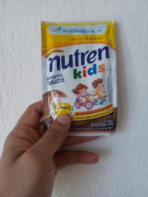 Amostra Recebida- Nutren Kids Nestlé