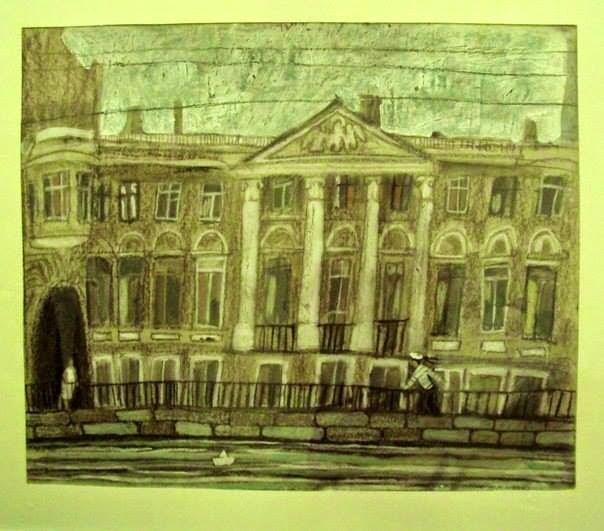 Петербург Алиса Юфа графика