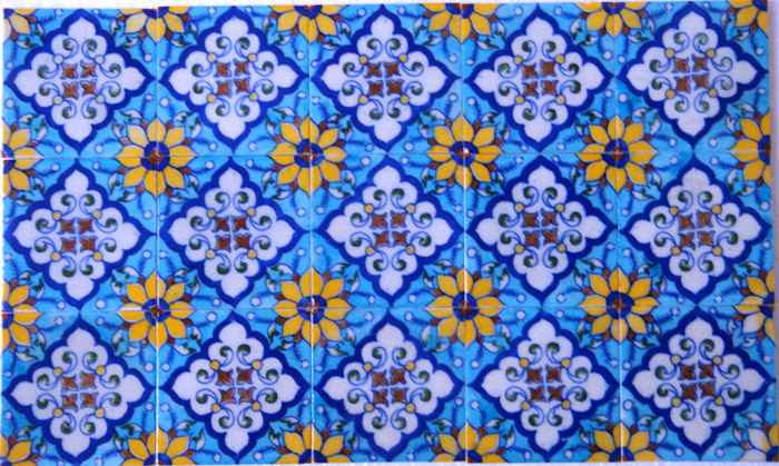 Blue Pottery Tiles Jaipuri Jaipur