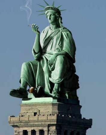 art sci statue of liberty gone wild