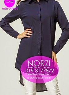 NBH0243 DHAMANAH BLOUSE (NURSING FRIENDLY)
