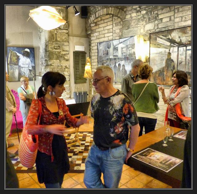 EXPOSICIONES-PINTURA-ARTISTA-PINTOR-ERNEST DESCALS-EXPOSICIONS-MANRESA-CATALUNYA-FOTOS-INAUGURACION-