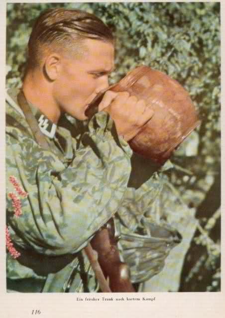 Souvenez Vous 44 Le Soldat Allemand Et Sa Coupe De Cheveux