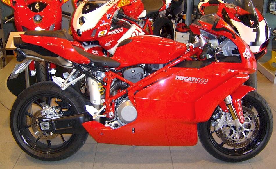 Ducati 999 Three Bike Models