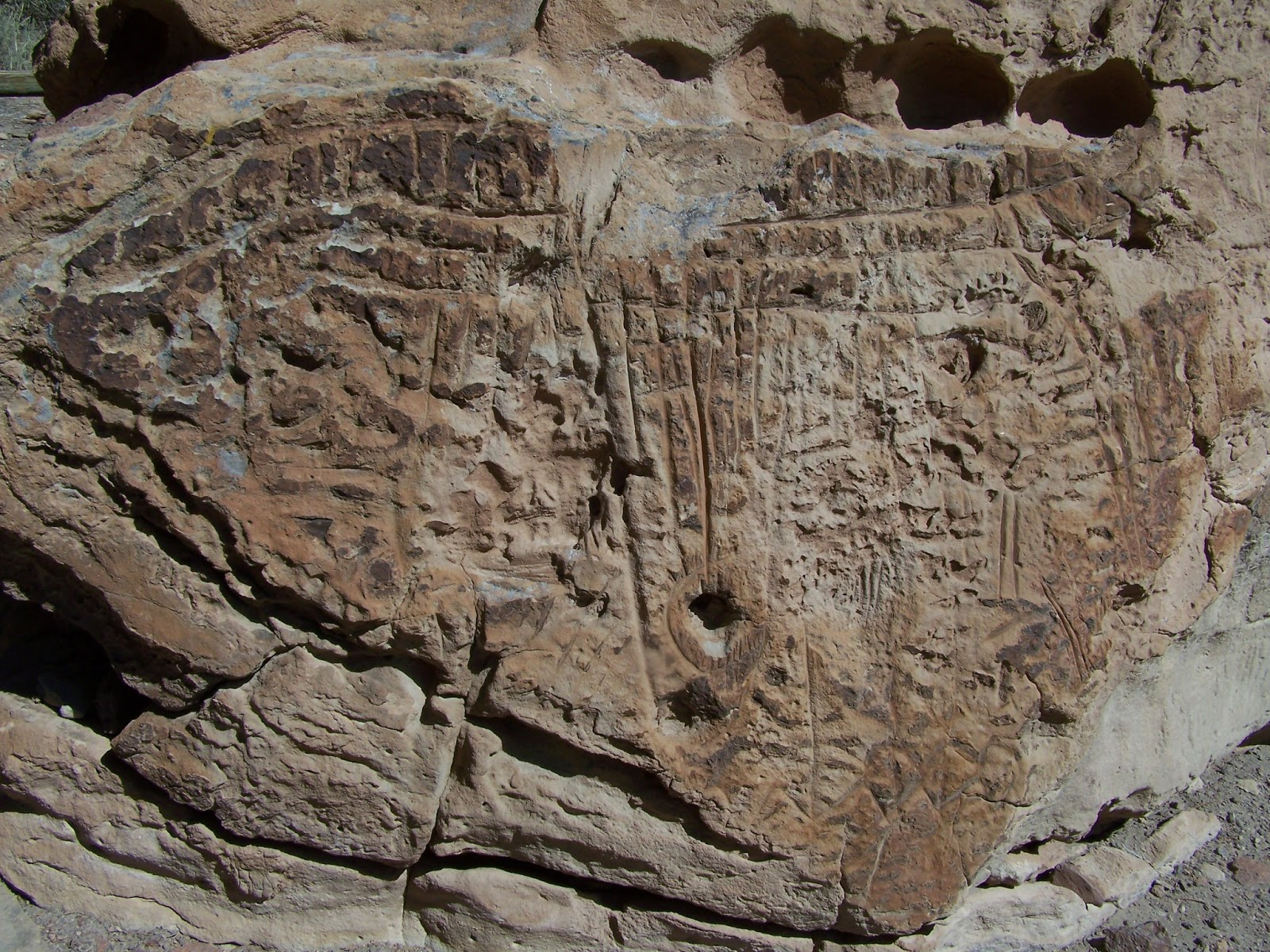 The Journey Unexpected: Hickison Petroglyphs ~ Our RV ...