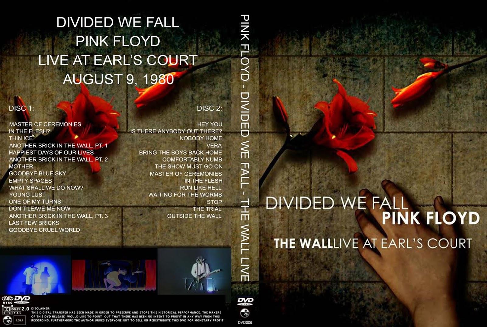 Deer 5001: Pink Floyd - Divided We Fall HRV 2xDVD