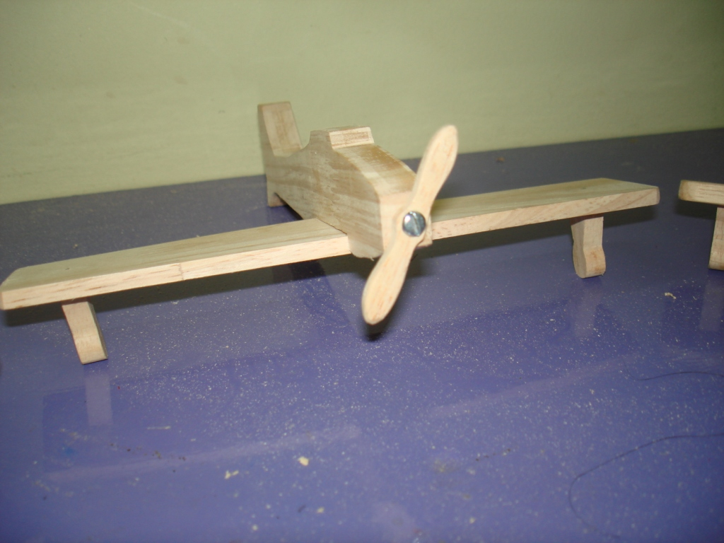 House on the Rock: Wooden toy planes