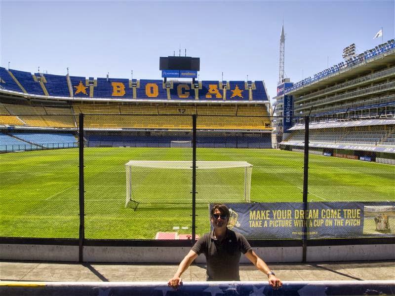 Campo de fútbol de La Bombonera