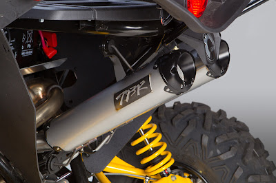 Two Brothers Stainless Steel Maverick Exhaust System
