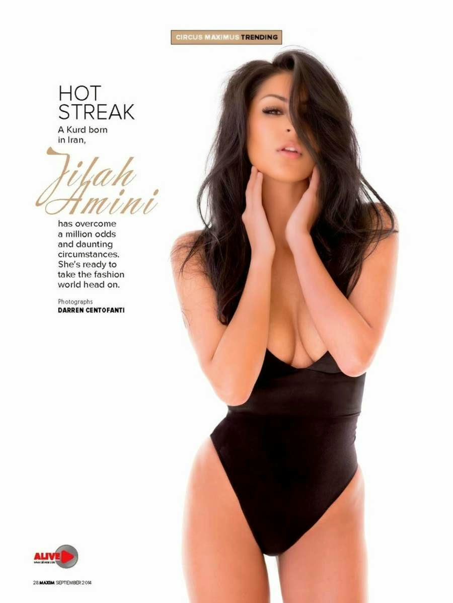 Jilah Amini Hot & Spicy Maxim India Magazine Photoshoota 2014