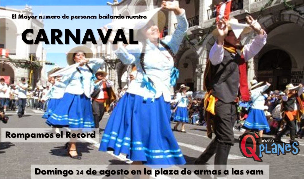 Record carnaval Arequipa