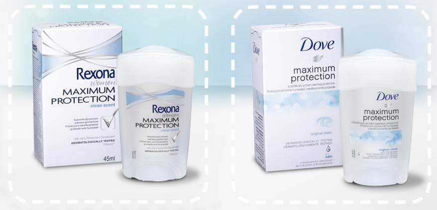 desodorante de rexona