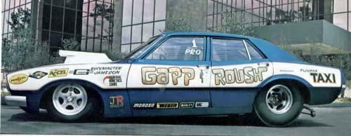 Mclaren Gapp And Roush Door Maverick Race Car