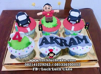 Cupcake Tema Mobil Daerah Surabaya - Sidoarjo