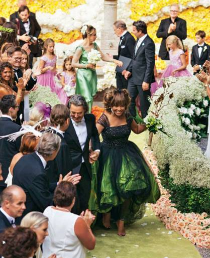 Tina Turner Marries Erwin Bach - Wedding Album   Romance Meets Life