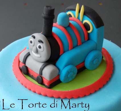 Cake Design Trenino Thomas : le Torte di Marty: Trenino Thomas Cake