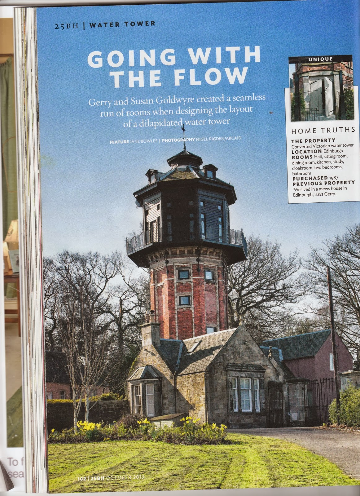 Water Tower Homes Water Tower Wood Beautiful Homes Magazine Article October 2013