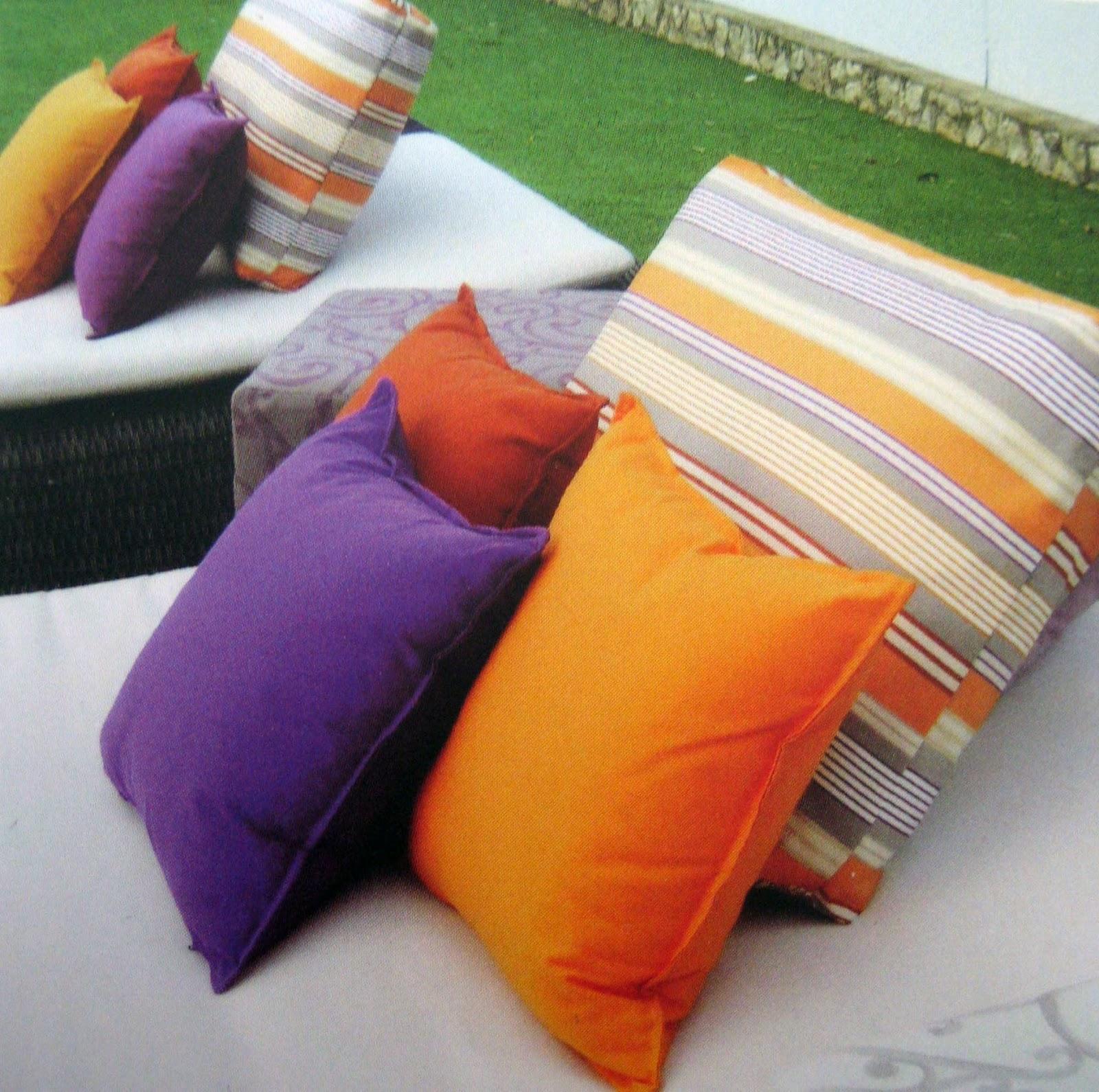 Confección de cojines de exterior | Ideas ALADRO I PUIG
