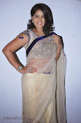 Actress Tanusha Photos in Saree at Present Love Audio-thumbnail-2
