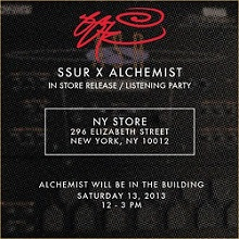 The Alchemist X SSUR Mini-EP (Review)