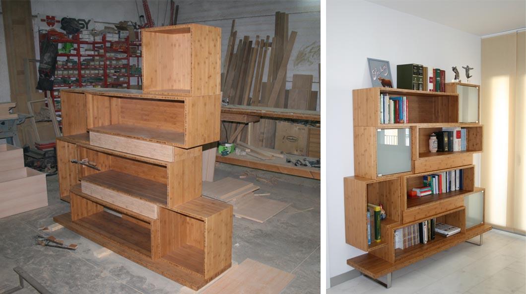 Muebles de madera dise o y o calidad espacios en madera - Mueble a medida ...