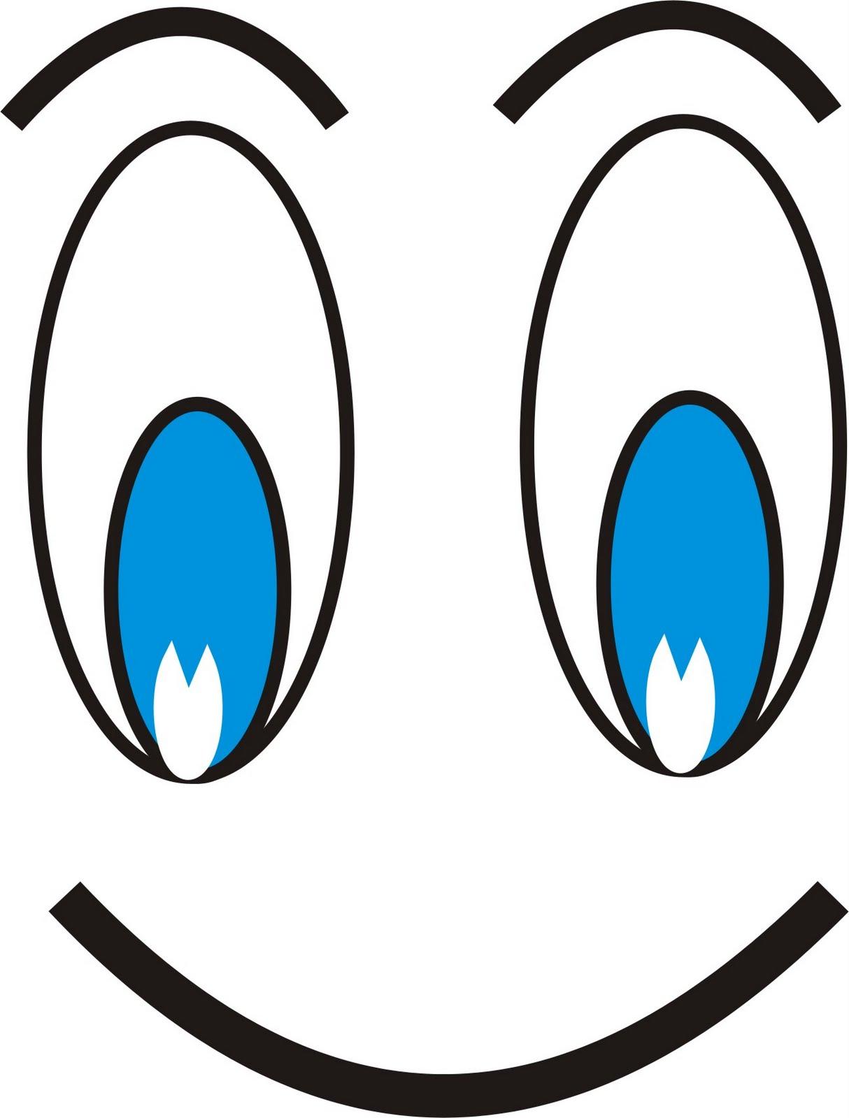 Fantástico Ojos Grandes Para Colorear Friso - Enmarcado Para ...