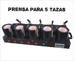PRENSA 5 TAZAS MUG