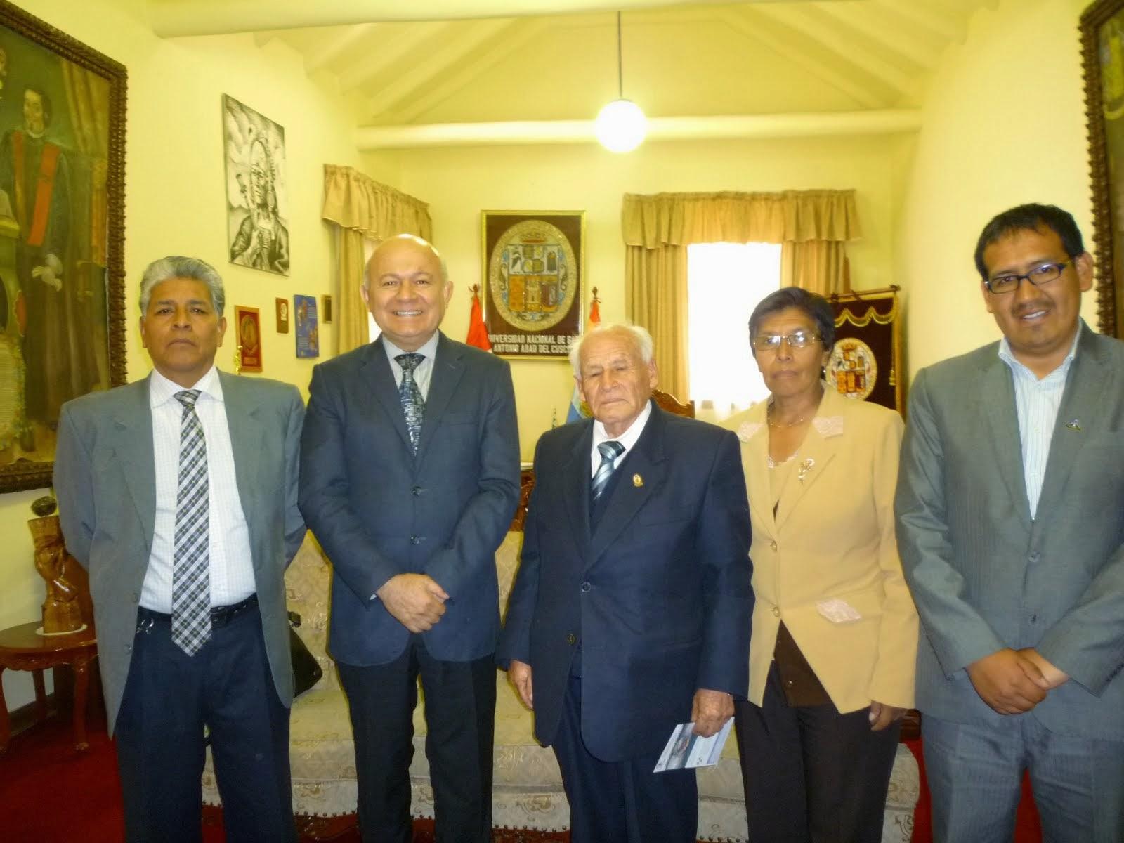 Coordinaciones en el Cusco - Simposio Internacional sobre Educación, Capacitación y GCN