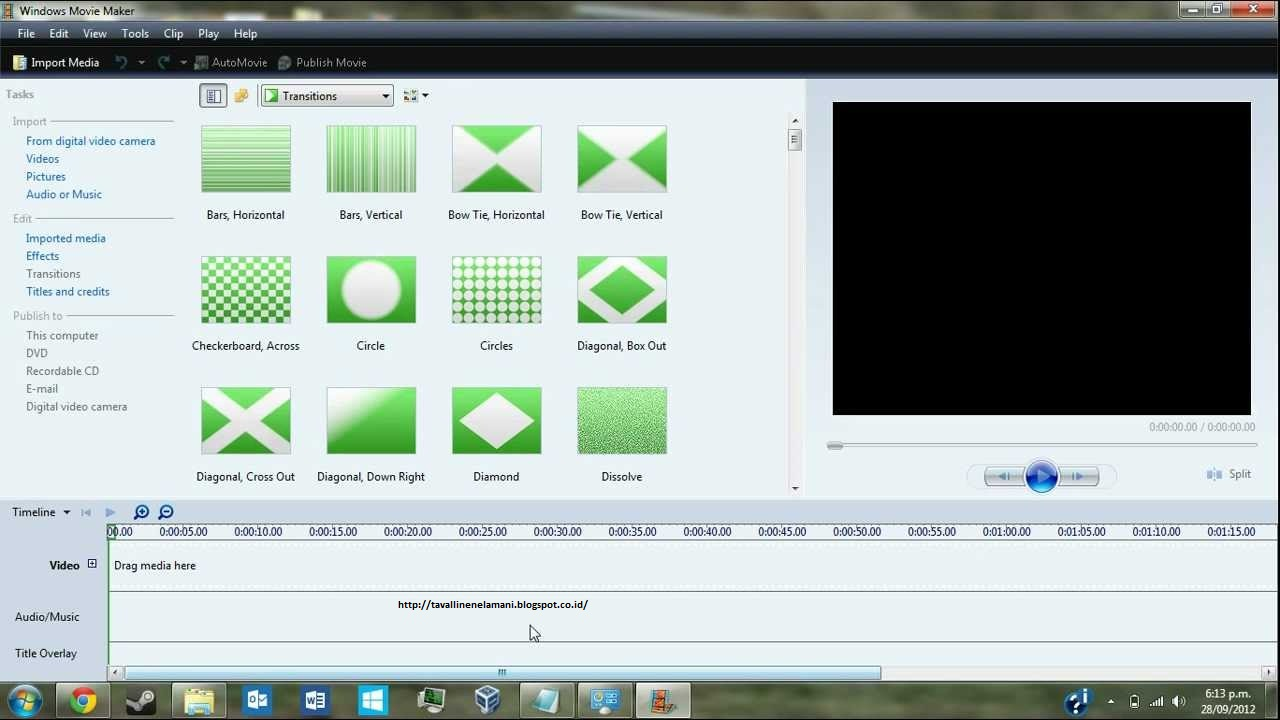 Windows Movie Maker Untuk Pc