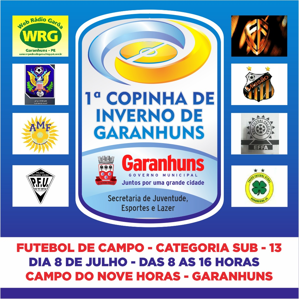 COPINHA DE INVERNO DE GARANHUNS - SUB 13.