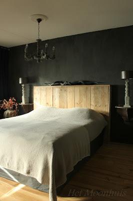 Het Moonhuis: De slaapkamer