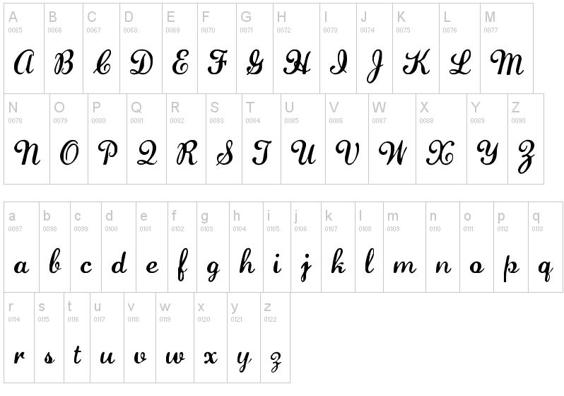 Lauren script free calligraphy font