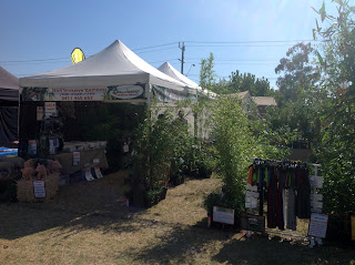 Bamboo creations at seymour alternitive farming expo