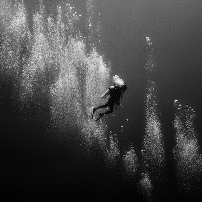 el mar... en blanco y negro. hermosas fotos.