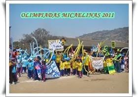 0LIMPIADAS MICAELINAS2011