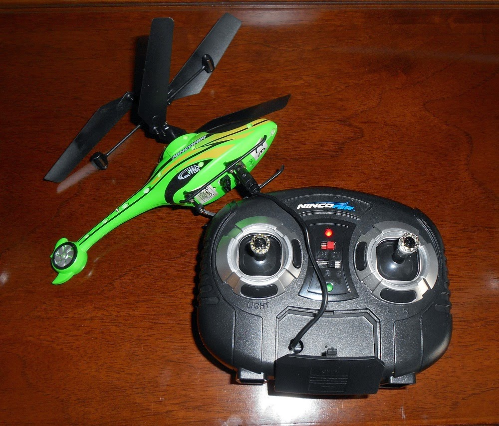 mini-helicoptero por infrarrojos