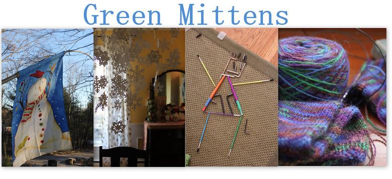 Green Mittens