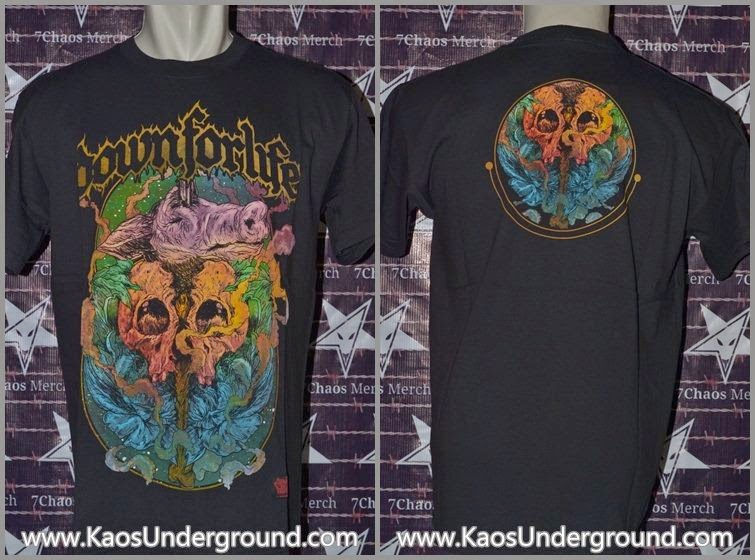 band down for life solo KaosUnderground.com SevenChaosMerch  Riotic