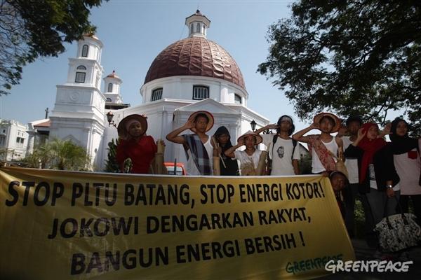 Greenpeace Dorong Pengembangan Energi Terbaharukan