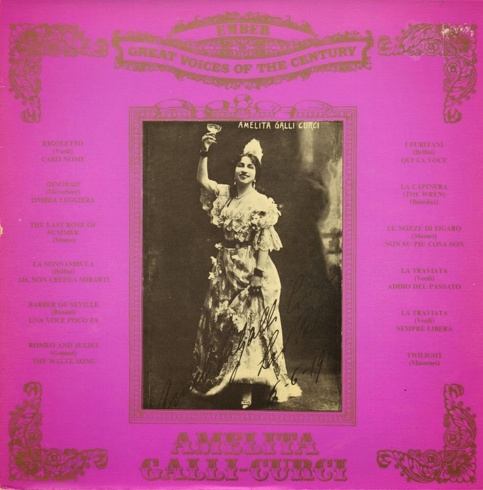 Amelita Galli-Curci - Clavelitos / Estrellita / Russian Nightingale Song