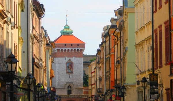 Kraków Brama Floriańska