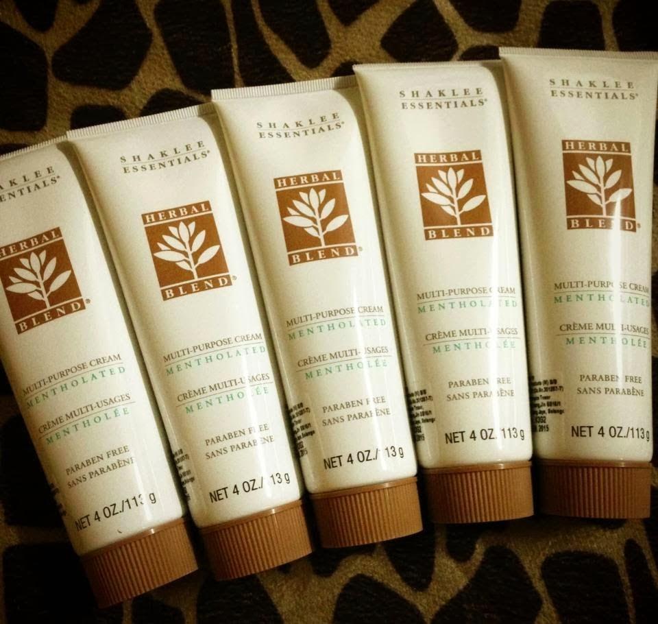 ... saya dan ramai lagi pengguna Herbal Blend Multipurpose Cream ini