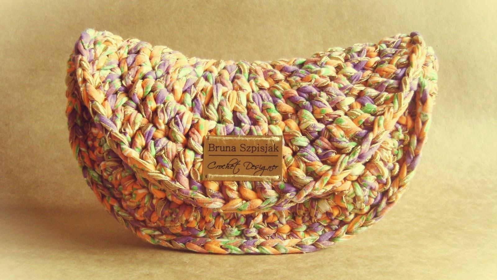 Вязание нитками лентами 61