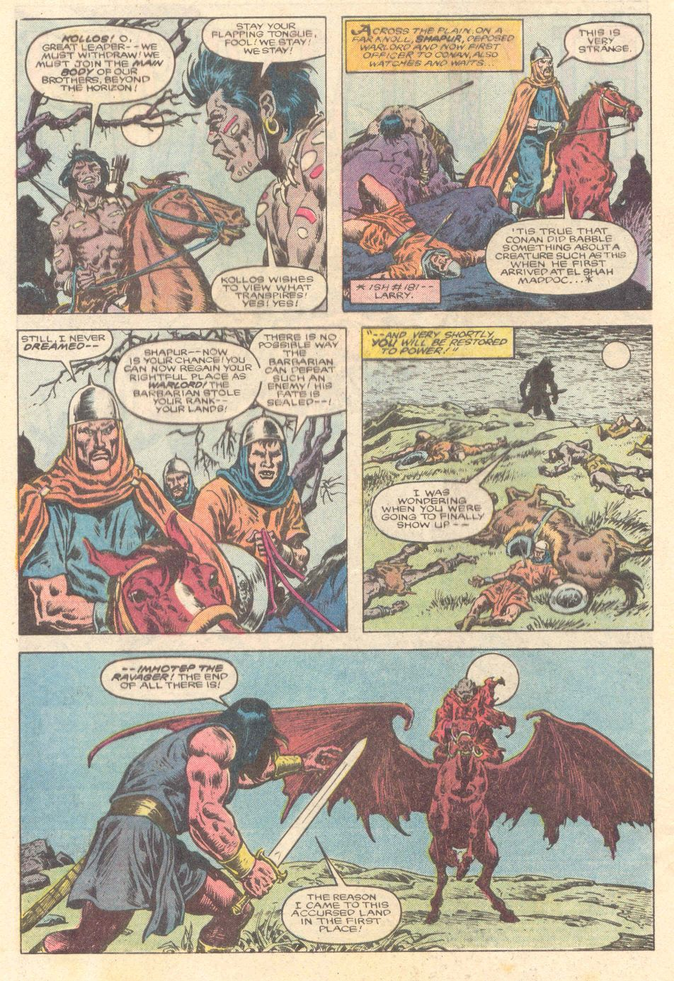 Conan the Barbarian (1970) Issue #183 #195 - English 3