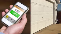 Portland garage door smart phone controlled