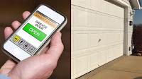 Portland garage door smart phone controlled