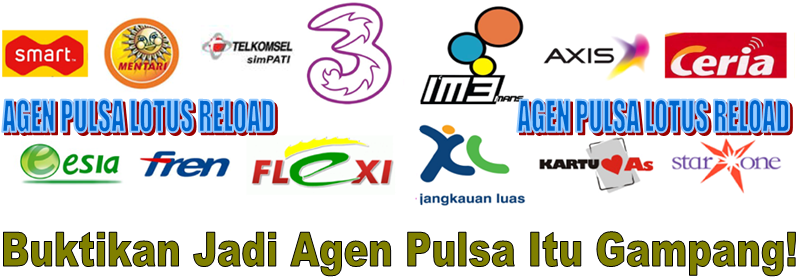 AGEN PULSA LOTUS RELOAD