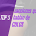 Top 5: Canciones que hablan de culos